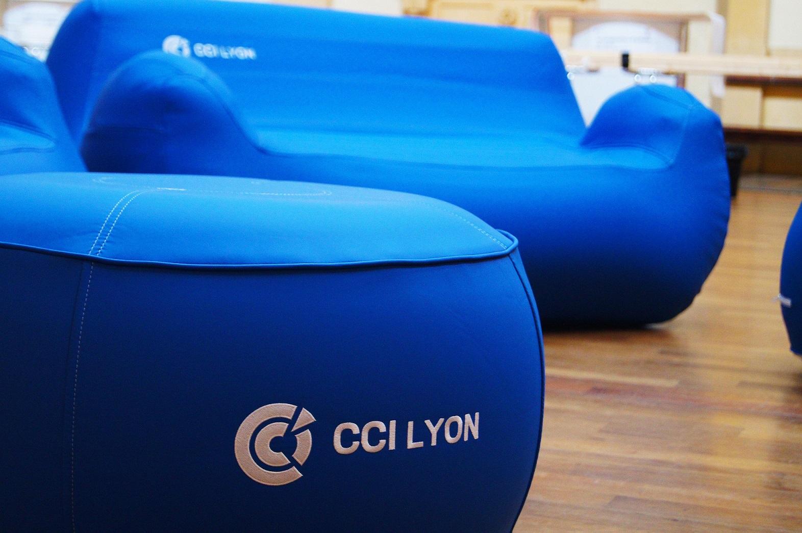 mobilier personnalisable gonflable UNC Pro evenement