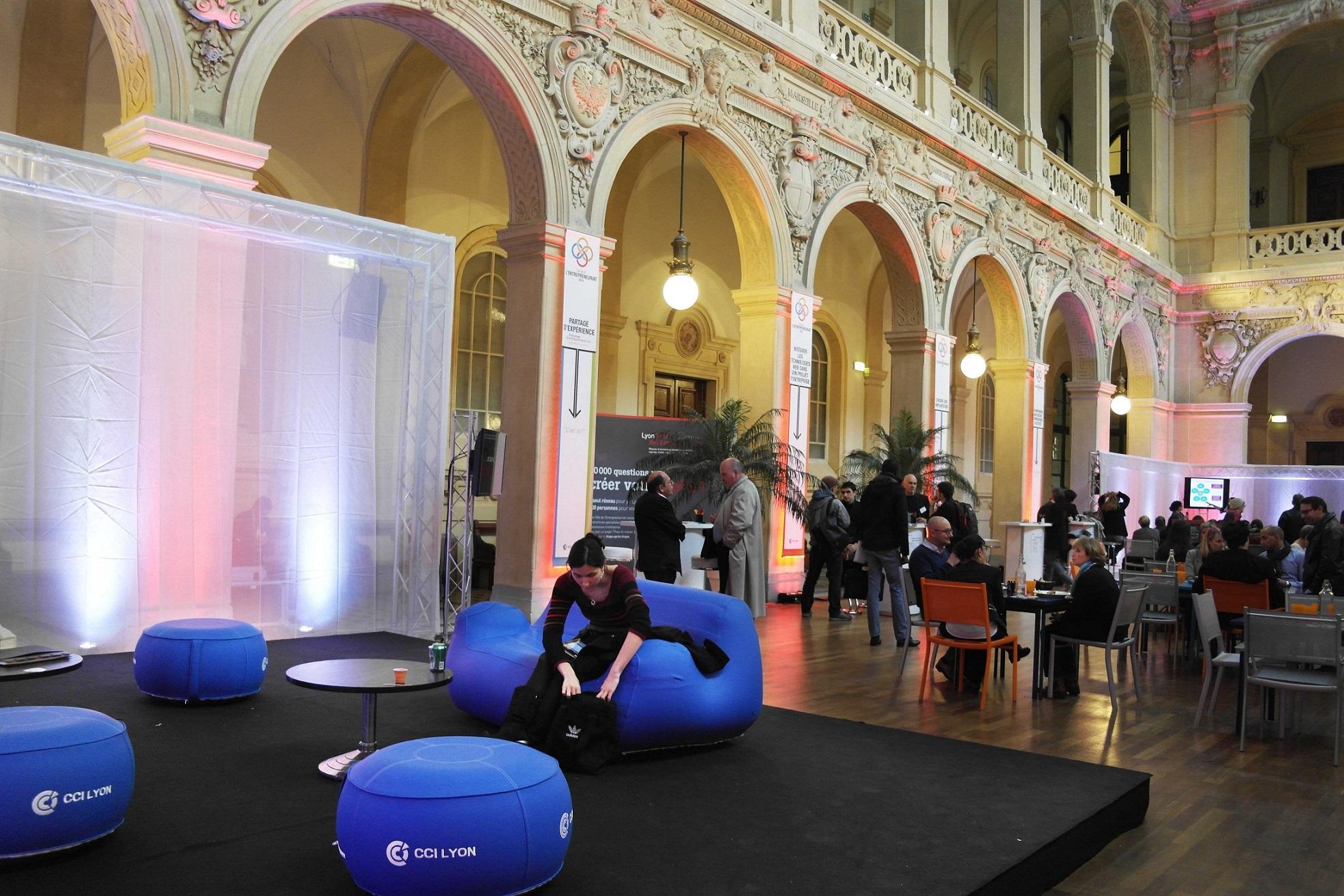 CCI Lyon evenement mobilier personnalisable