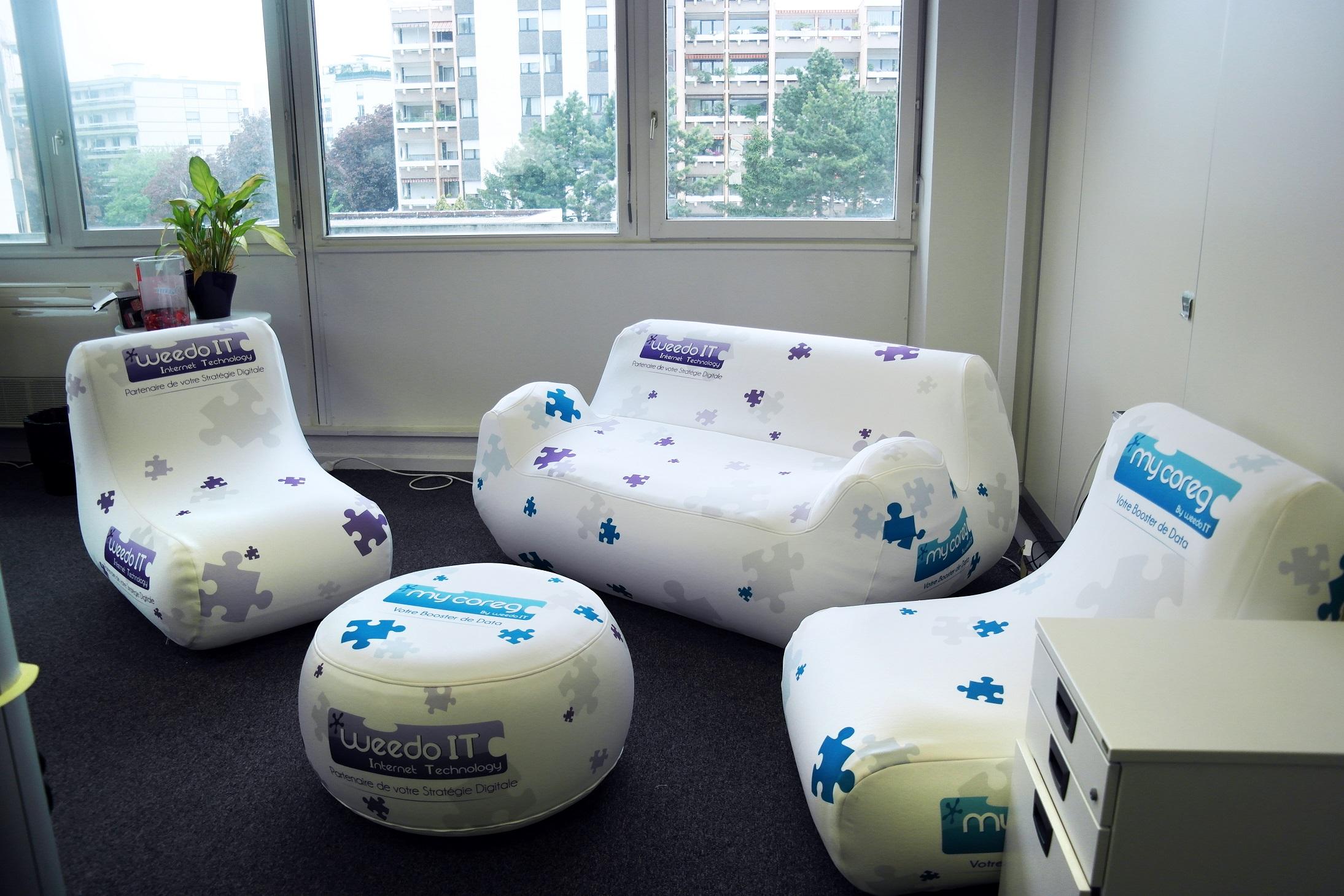 Mobilier de bureaux, personnalisables