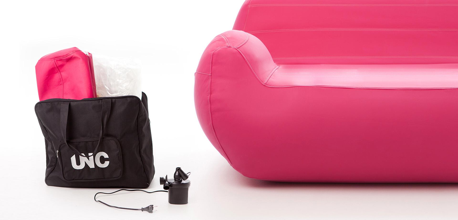 mobilier gonflable stockage et transport unc pro. Black Bedroom Furniture Sets. Home Design Ideas