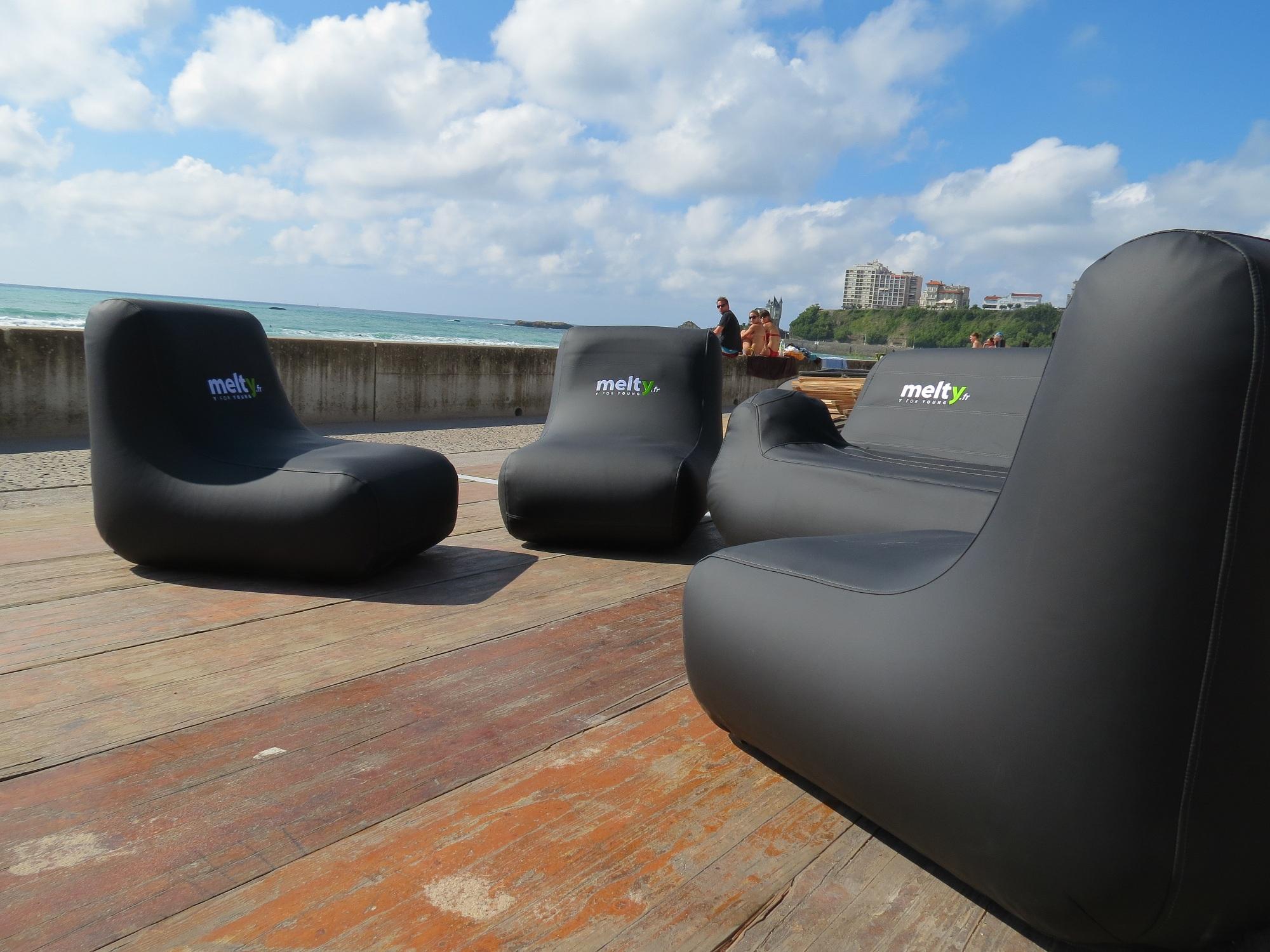 melty mobilier gonflable unc pro. Black Bedroom Furniture Sets. Home Design Ideas